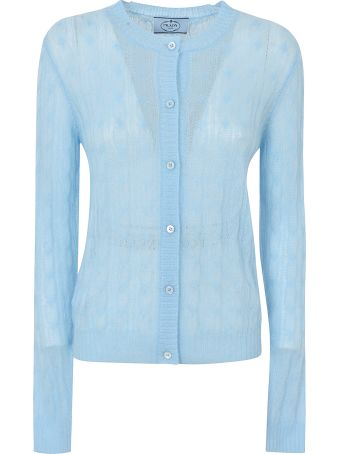 Prada Knit Lace Shirt