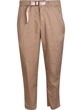 White Sand Belted Trousers