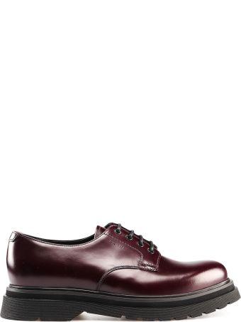 Prada Platform Lace Up Shoes