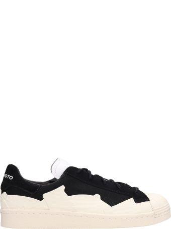 Y-3 Black Canvas Takusan Sneakers