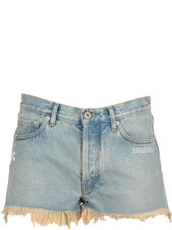 Off-White Off White Short Jeans