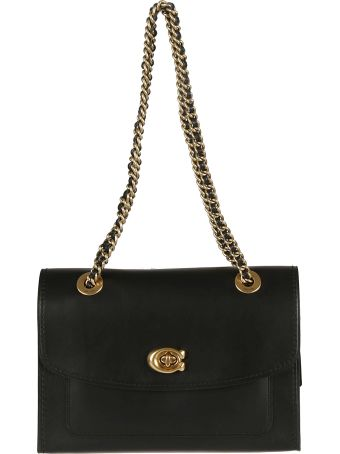 Coach Twist-lock Shoulder Bag