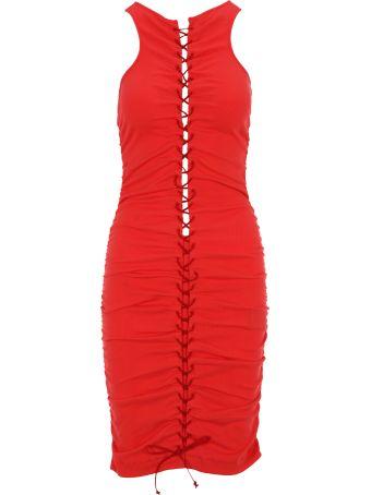 Ben Taverniti Unravel Project Unravel Lace Up Dress