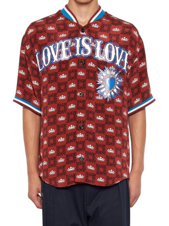 Dolce & Gabbana 'love Is Love' Shirt