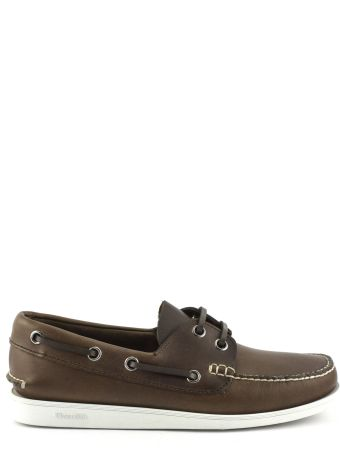 Church's Brown Leather Boat Shoe