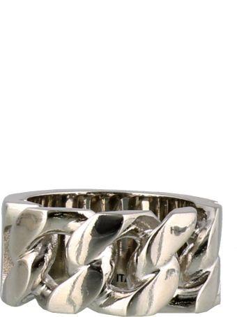 Alexander McQueen Identity Chain Ring