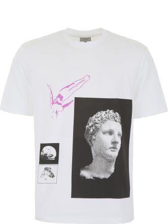 Lanvin Multi Print T-shirt