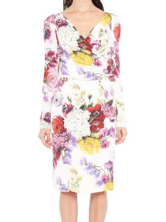 Dolce & Gabbana 'ortensie' Dress