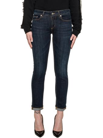Dondup Dark Blue Monroe Denim Jeans
