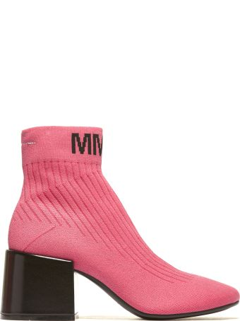 MM6 Maison Margiela Logo Sock Boots