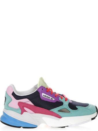 Adidas Originals Falcon Multicolor Mesh & Suede Sneakers