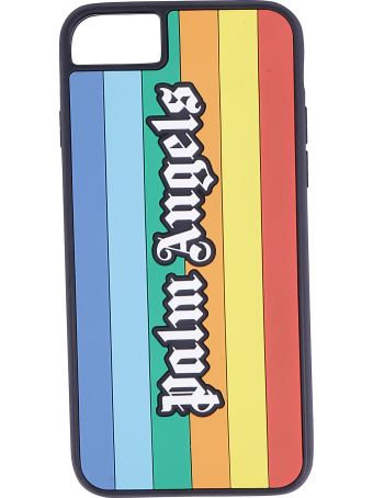 Palm Angels Rainbow Cover Iphone 8