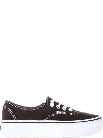 Vans Authentic Platform 2.0 Black Sneakers