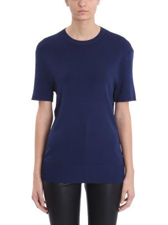 Neil Barrett Knit Blue Viscose Sweater
