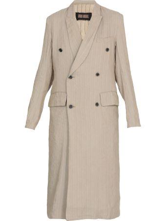 Uma Wang Overcoat Linen