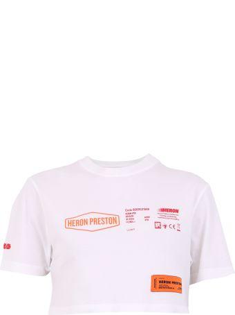 HERON PRESTON Printed Cotton T-shirt