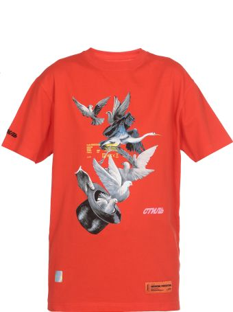 HERON PRESTON T Shirt Herons Dove