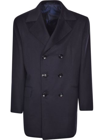 Kiton Double Breasted Coat