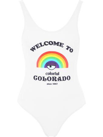 Chiara Ferragni Welcome To Colorado Swimsuit