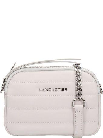 Lancaster Paris White Quilted Leather Mini Parisien Coutur Bag