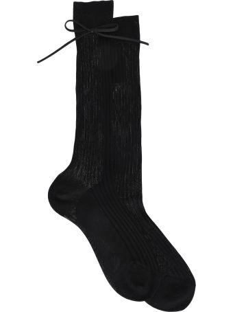 Prada Bow Sock