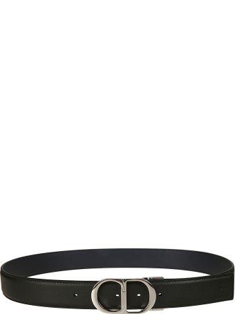 fd7252a8e58 Christian Dior Christian Dior Decorative Buckle Belt - Black - 10811886 |  italist