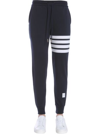 Thom Browne Cotton Fleece Trousers