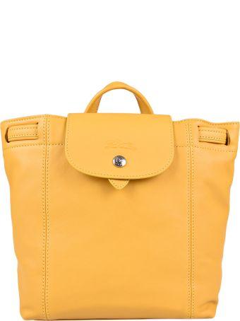 Longchamp Foldover Top Backpack