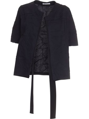 Stefano Mortari Wrinkled Effect Jacket