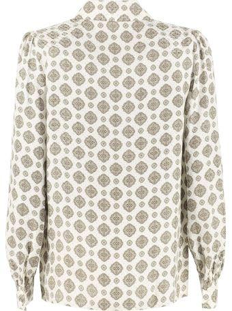 MICHAEL Michael Kors Printed Twill Shirt
