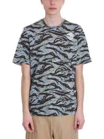 OAMC Schule Camouflage Cotton T-shirt