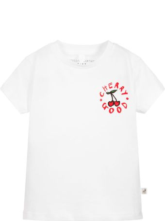 Stella McCartney Kids White T-shirt Girl