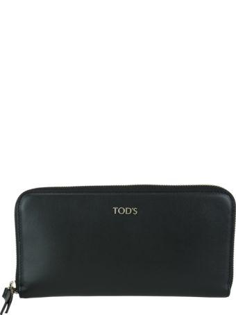 Tod's Logo Wallet