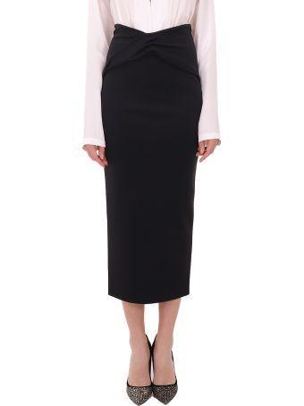 Haider Ackermann Black Skirt