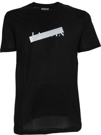 Lanvin Taped Logo T-shirt