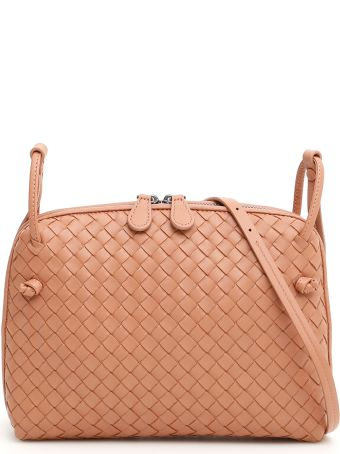 Bottega Veneta Woven Nappa Nodini Bag