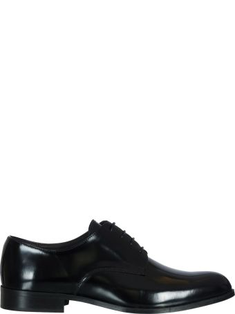 Manuel Ritz In Leather Lace-up Shoes