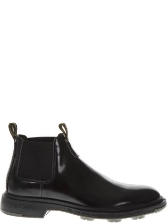 Pezzol 1951 Black Leather Boots