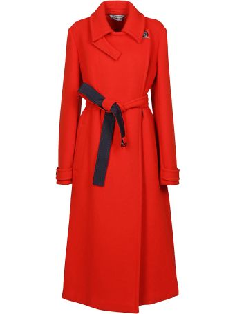 SportMax Belted Trench
