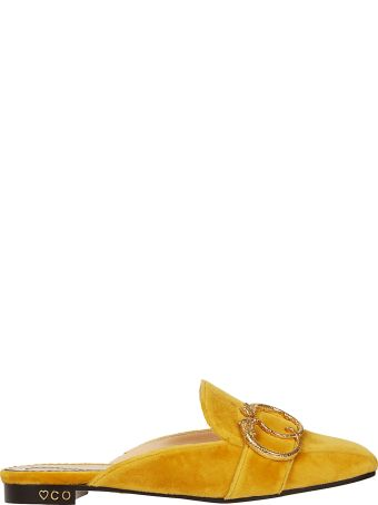 Charlotte Olympia Buckle Detail Mules
