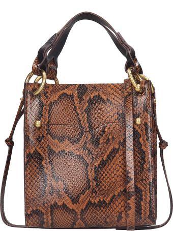 Rebecca Minkoff Kate  Tote In Brown Leather