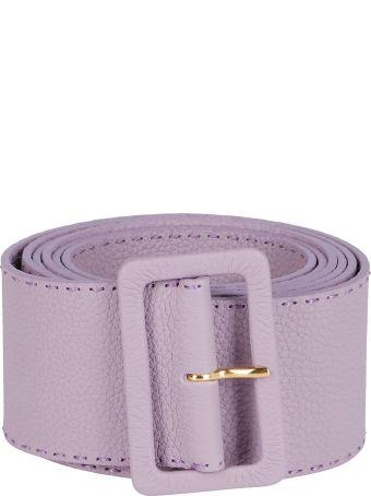 Agnona Lavender Leather Belt