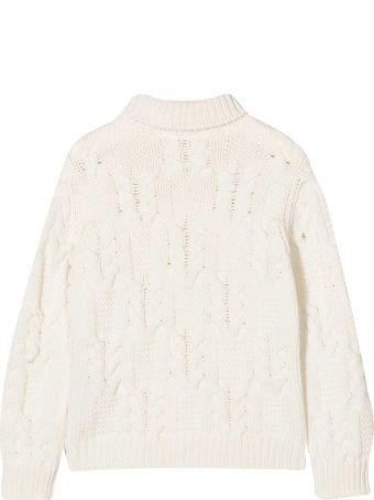 Balmain White Sweater Teen