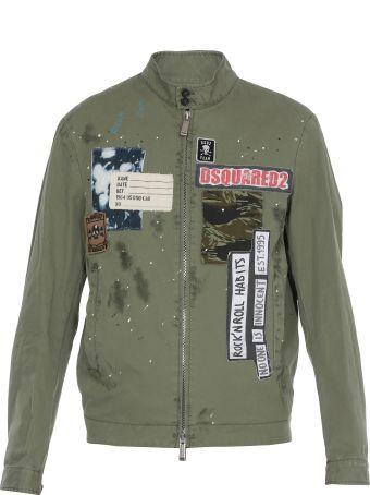 Dsquared2 Cotton Jacket