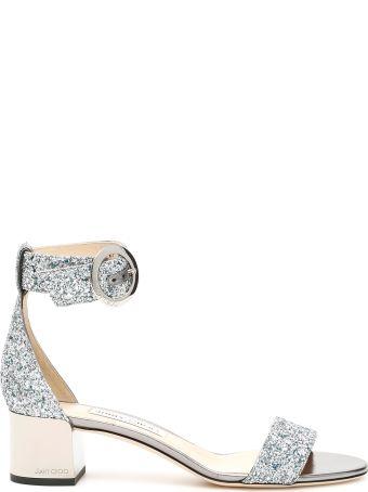 Jimmy Choo Glitter Jaimie 40 Sandals
