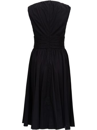 MICHAEL Michael Kors Poplin Longuette Dress