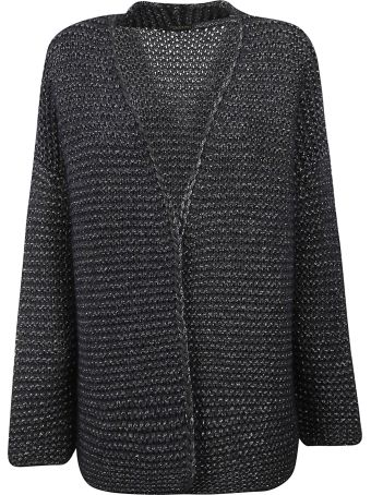 Fabiana Filippi Belted Knitted Cardigan