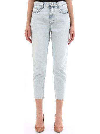 Current/Elliott Light Denim Slim Jeans