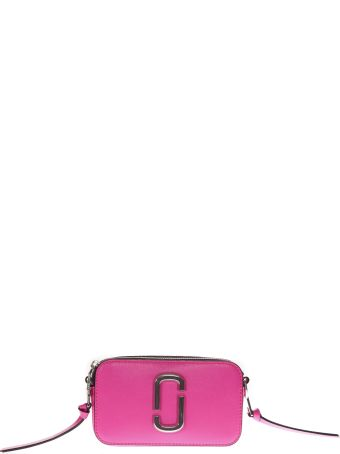 Marc Jacobs Snapshot Pink Fluorescent Leather Camera Bag