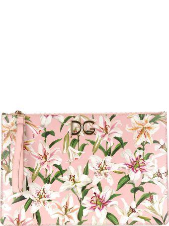 Dolce & Gabbana Dolce&gabbana Lillium Print Pouch